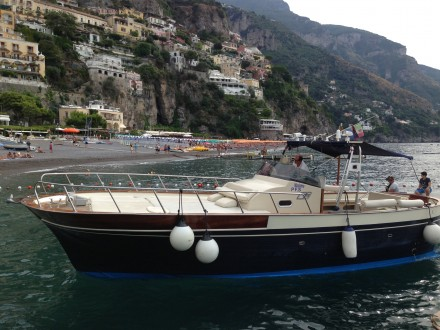 Our Boat for the Day via http://www.positanoboats.info