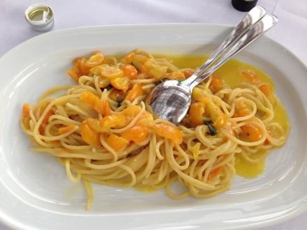 Japanese Tomato Pasta