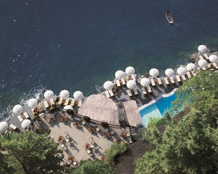 View of the Pool. Photo Cred: http://www.lhw.com/hotel/Hotel-Santa-Caterina-Amalfi-Italy#proprecommendations