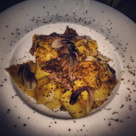 Pappardelle with Aged Duck Ragu