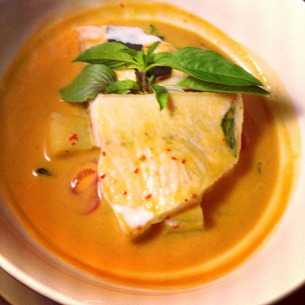 Yellow Curry Swordfish